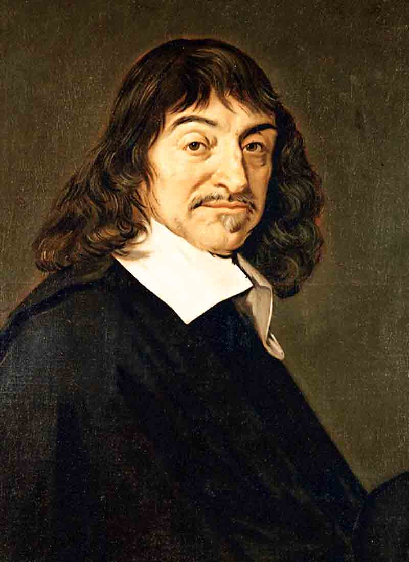 secret society Rene Descartes Rosicrucian